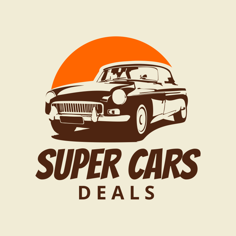 super cars logo template free download
