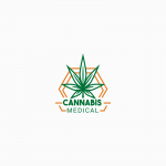 Cannabis Medical Logo Template
