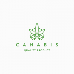 cannabis cultivation logo template free download