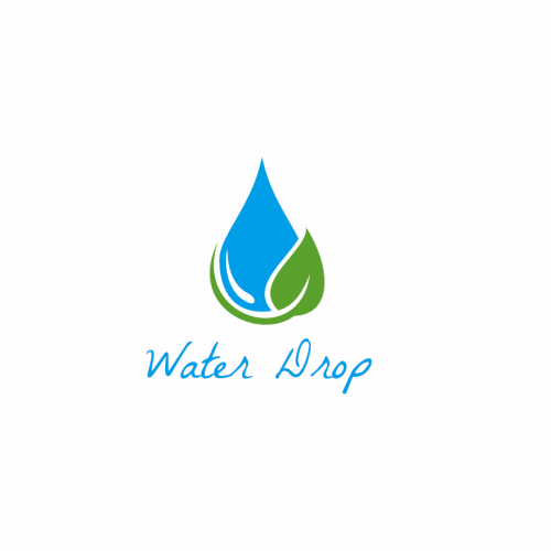 Water Drop Vector Logo Template