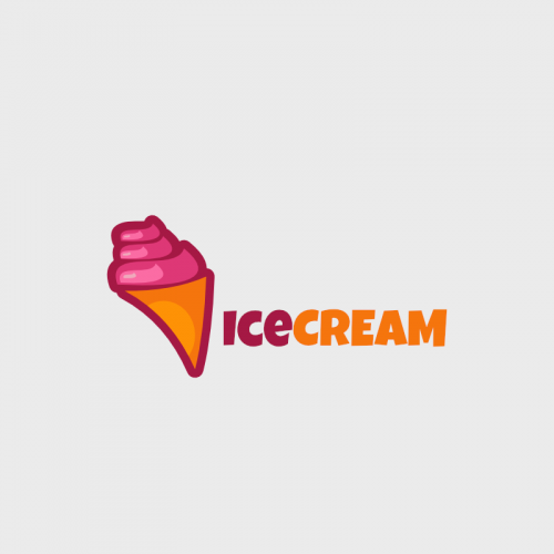 Icecream  Logo Template