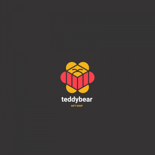 Teddy Bear - Gift Shop Logo Template