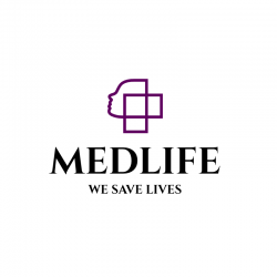 MedLife - We Save Lives Logo Template