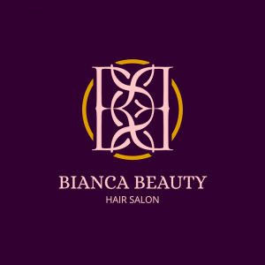 Bianca Beauty - Hair Salon Logo Template