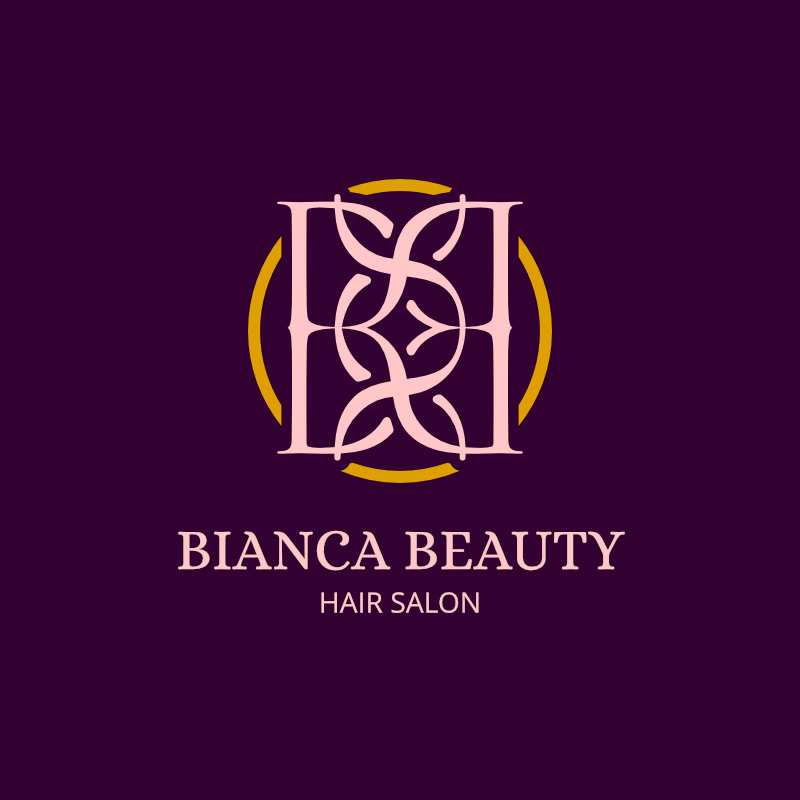 Free Bianca Beauty Hair Salon Logo Design Maker Templates Download