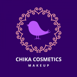 Chika Beauty MakeUp Logo Template