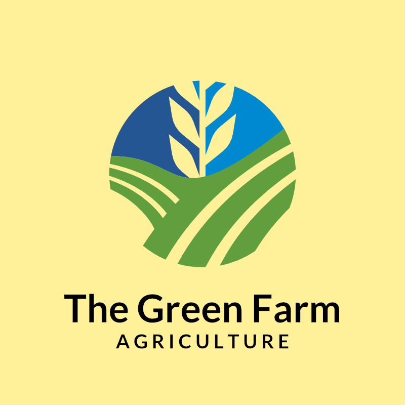 the green farm logo templates free download
