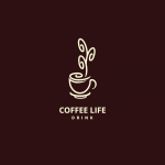 Coffee Life Logo Template