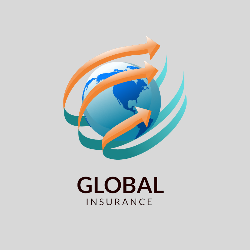 Free Global Insurance Logo Template Logo Design Maker