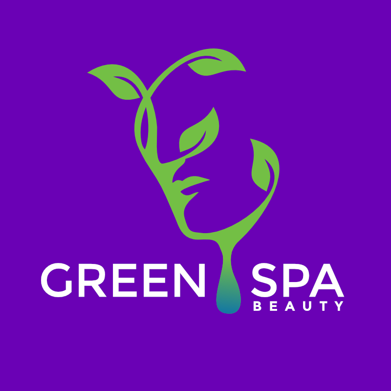 Green spa beauty free logo design maker template download for Salon apiculture