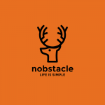 Nobstacle - Life is simple Logo Template
