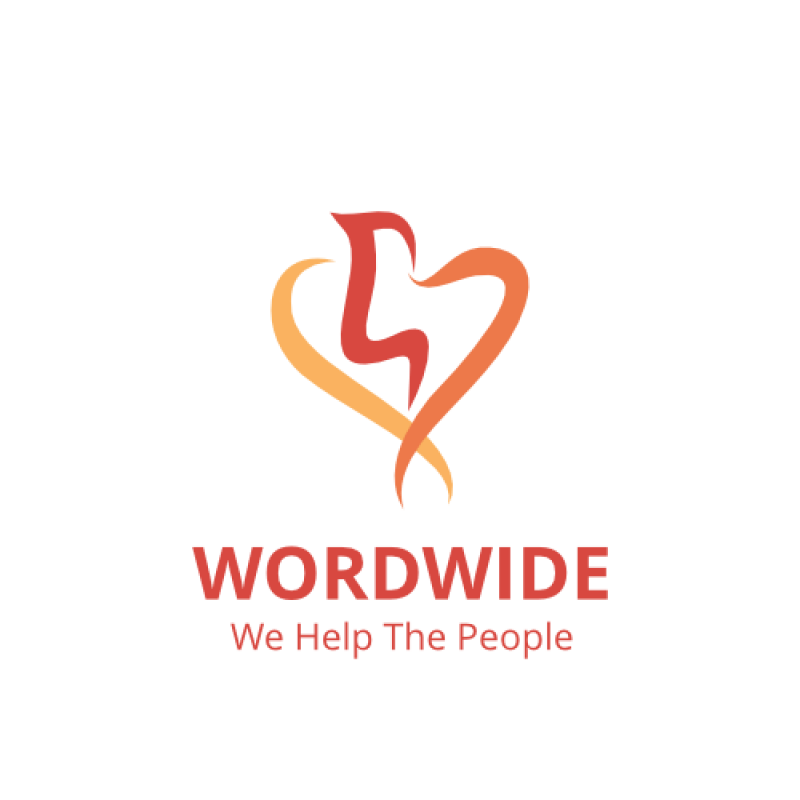 word wide we help the people dove logo template free download