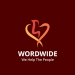 Word Wide - We Help The People Logo Template