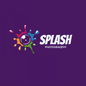Splash Photography Logo Template
