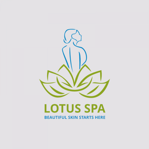 Lotus Spa Logo Template