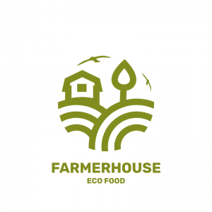 Farmer House Logo Template