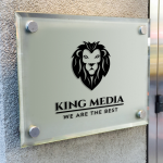 King Media Free Logo Template
