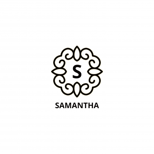 Samantha Luxury Logo  Template