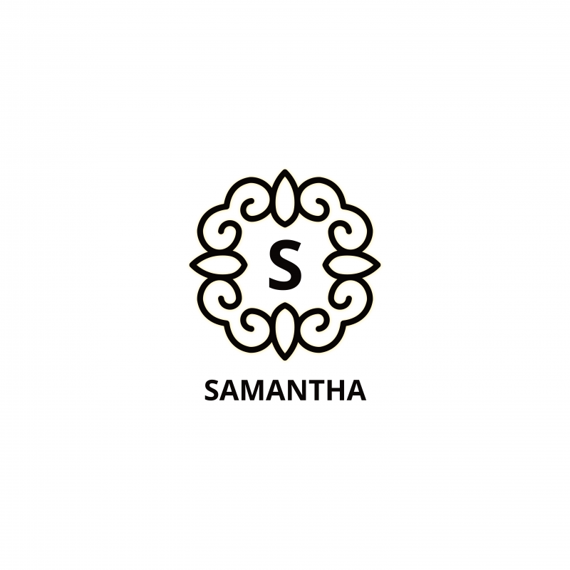 Samantha Free Luxury Logo Template