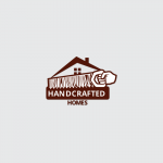 Handcrafted Homes Logo Template