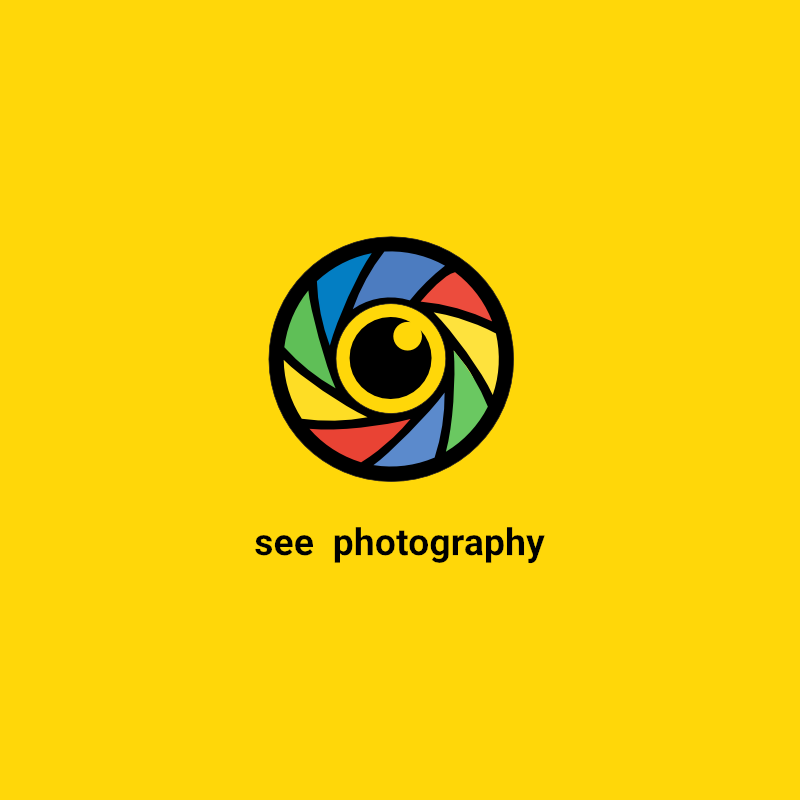 See Photography Cool Logo Template Free Download