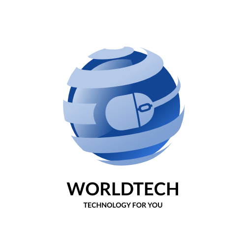 World Tech - Technology For You Logo Template