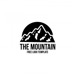 Free Mountain Logo Vector Template