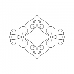 2 Sided Mandala Mock-Up Template