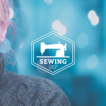 Sewing Clothing Logo Template