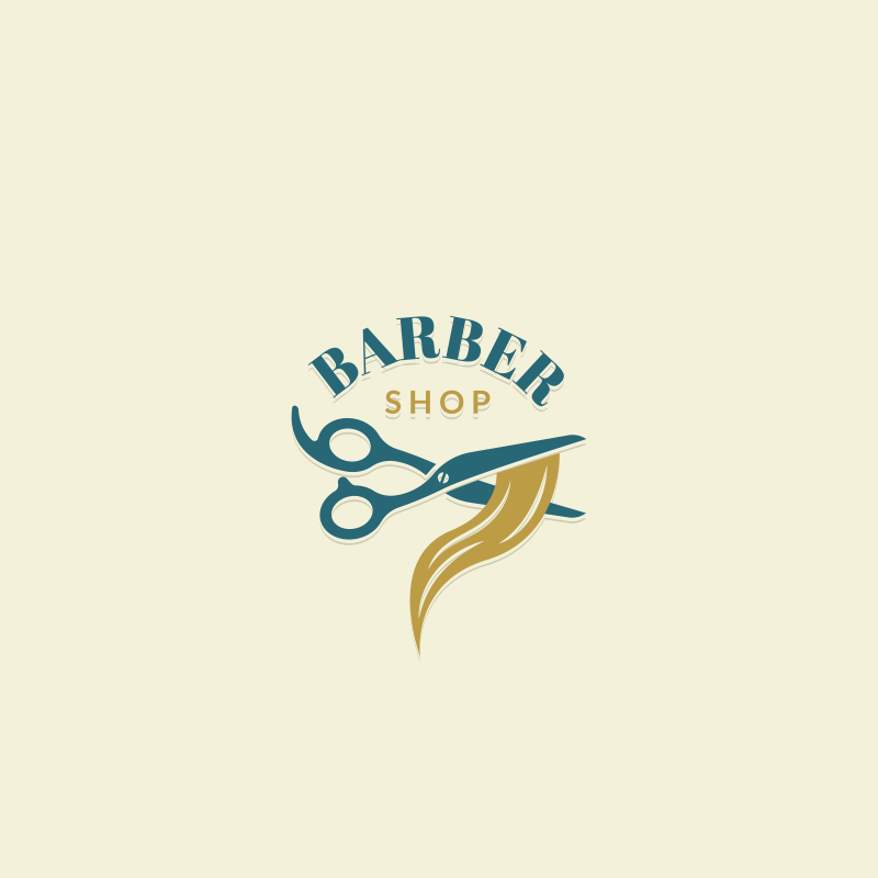 The barber shop logo template free download do you have a barber shop business try this free logo template and see if it meets your expectations instant download no login require accmission Gallery