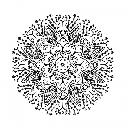 Mandala coloring book pdf ready to print free vector 0011