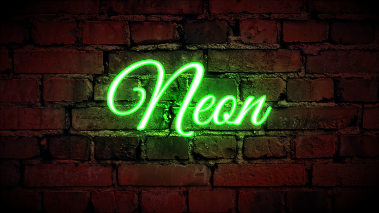 How to make a Neon Sign effect in CorelDraw